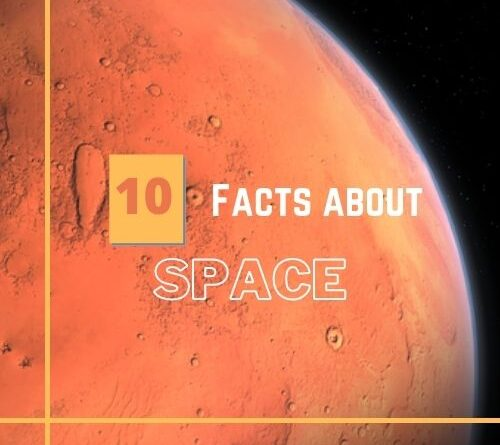 10 interesting facts about space