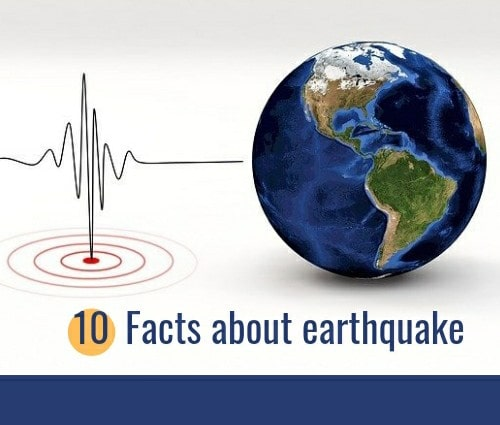 Facts about the earthquake